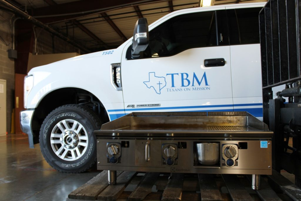 CES Grill Donation to TBM